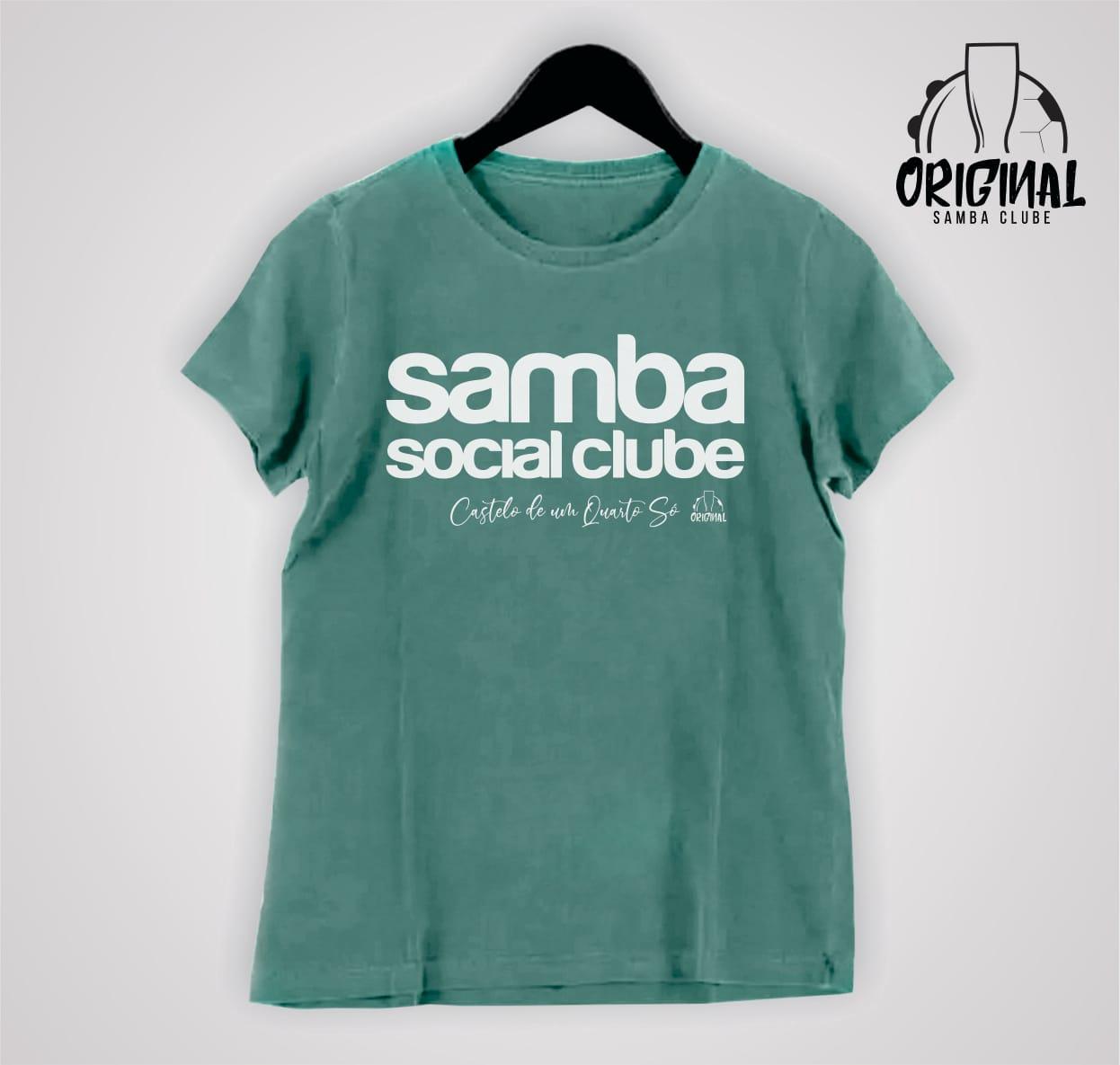 Camisa Feminina Castelo de Um Quarto Só - Samba Social Clube