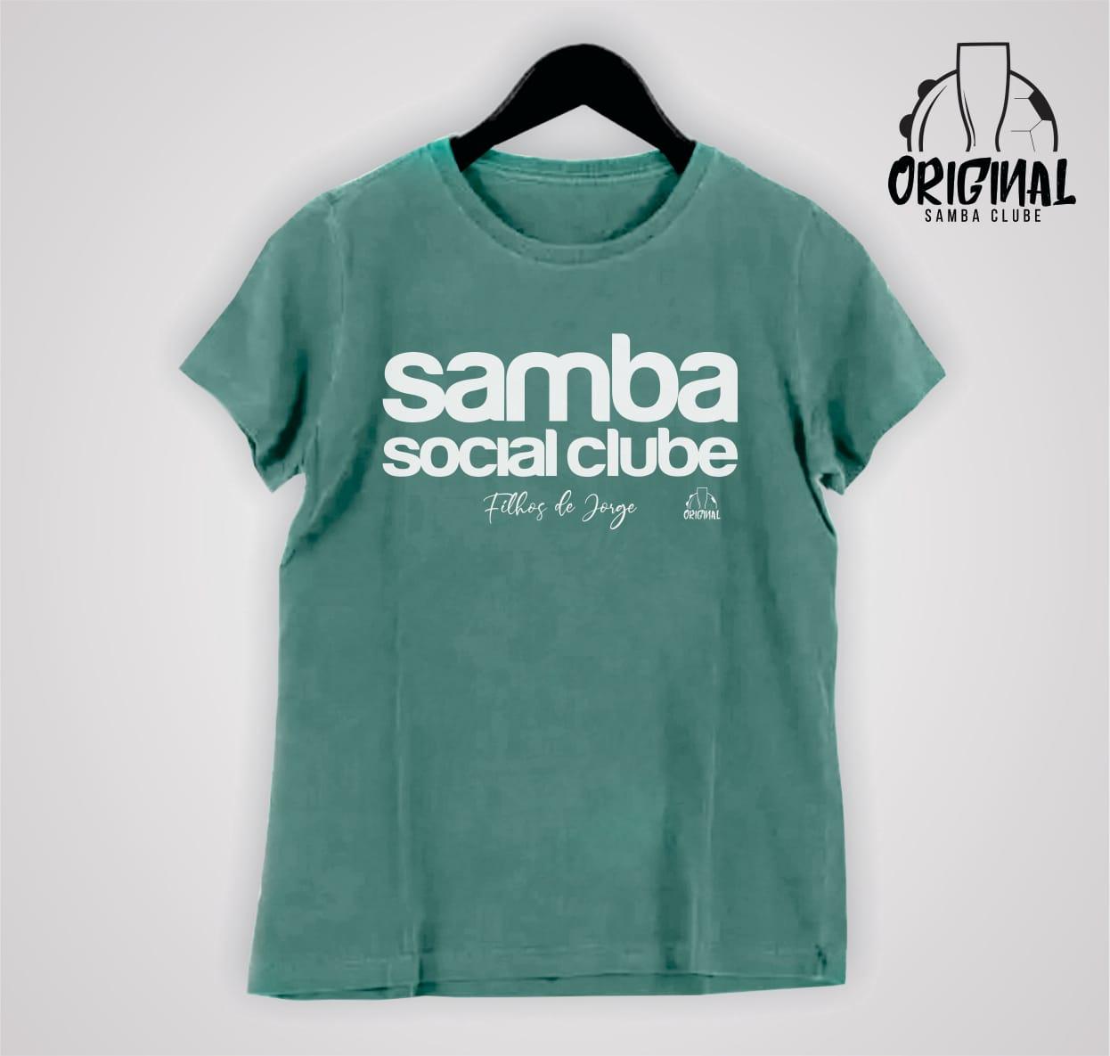 Camiseta Feminina Filhos de Jorge - Samba Social Clube