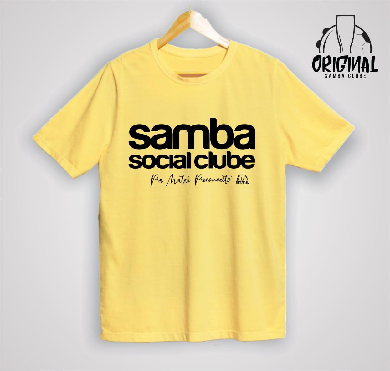 Camisa Pra Matar Preconceito - Samba Social Clube