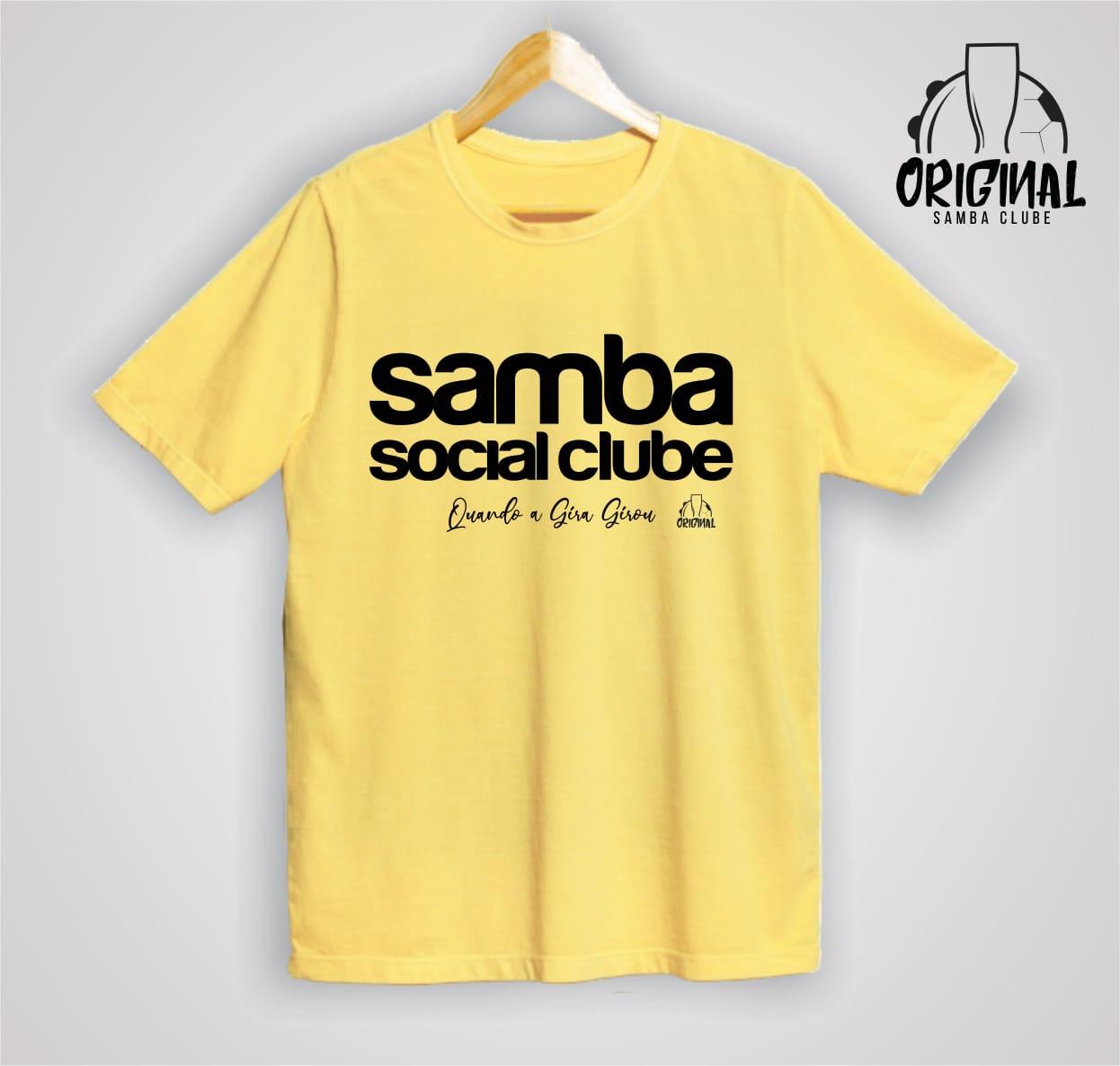 Camisa Quando a Gira Girou - Samba Social Clube