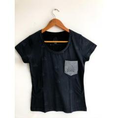 Camisa Feminina Farra Bolso
