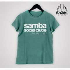 Camisa Feminina Mais Feliz - Samba Social Clube