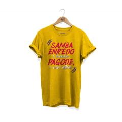 Camisa Estonada Samba Enredo é Fevereiro