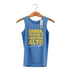 Camisa Estonada Samba x Pagode: Igual, mas diferente